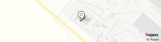 Ось на карте Липецка