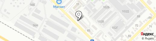 Терминал, Юго-Западный банк Сбербанка России на карте Азова