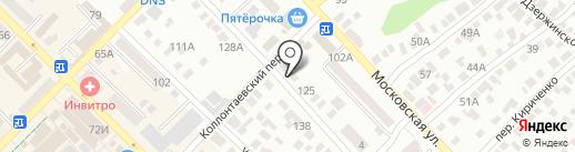 Тандэм на карте Азова