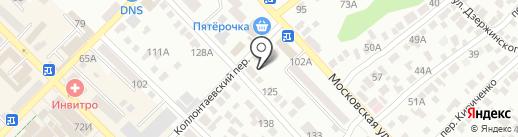Союз ломбардов на карте Азова