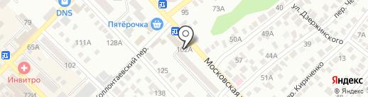Фрау марта на карте Азова