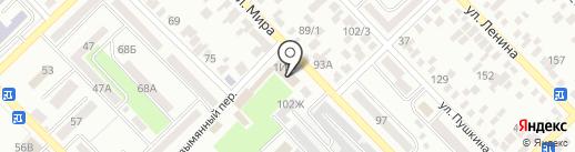 Стома на карте Азова