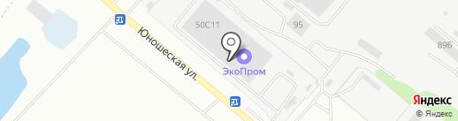 ЭкоПром-Липецк, ЗАО на карте Липецка