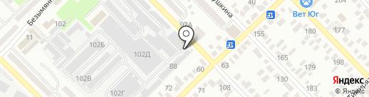 Фаворит-Агро на карте Азова