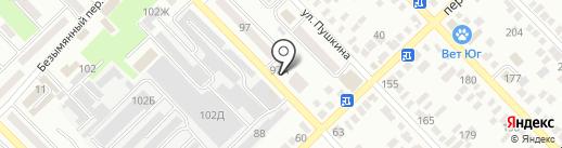 Национальный платежный сервис на карте Азова