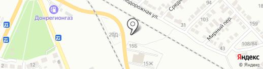Акар на карте Азова