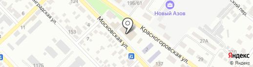 Айкрафт на карте Азова