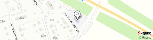 Детский сад №25 на карте Липецка