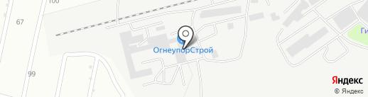 Спецкомплект на карте Липецка