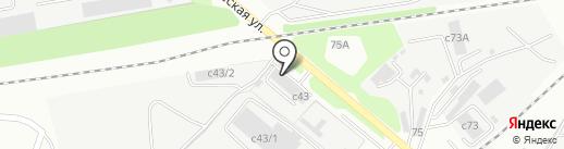 Автосфера48 на карте Липецка