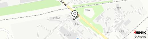Центр тахографии и мониторинга на карте Липецка