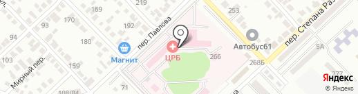 Банкомат, Банк ВТБ 24, ПАО на карте Азова