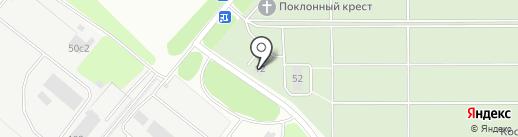 Мемориал на карте Липецка