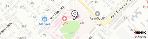 Поликлиника на карте Азова
