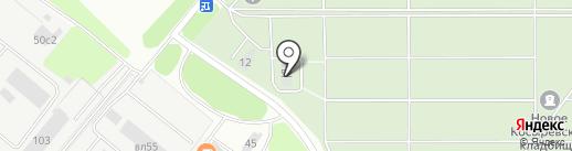Косыревкое кладбище в районе Елецкого шоссе на карте Липецка