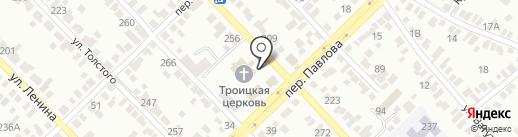 Храм Святой Троицы г. Азова на карте Азова