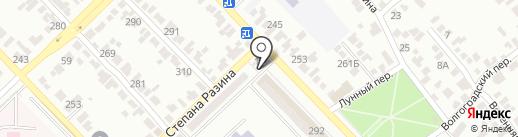 Золотой колос на карте Азова