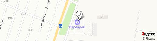Спецфундаментстрой, ПАО на карте Липецка