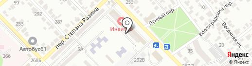 Omaks на карте Азова