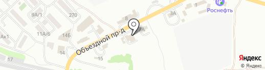Камавто-Дон на карте Азова
