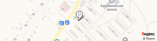 Магазин одежды на карте Баграмово