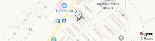 Продуктовый магазин на карте Баграмово