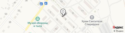 Отделение почтовой связи на карте Баграмово