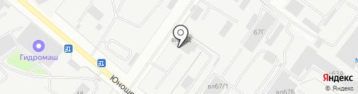 Моторресурс на карте Липецка