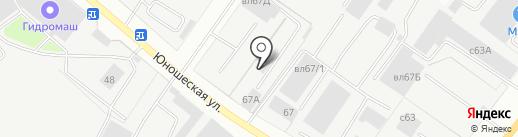 Агросервис на карте Липецка