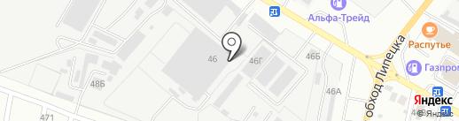 ПолимерГрупп на карте Липецка