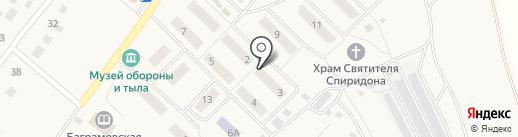 Сбербанк, ПАО на карте Баграмово