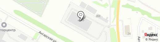 Экстра на карте Липецка