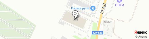АвтоТехцентр №1 на карте Липецка