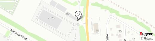 Автоконтроль на карте Липецка