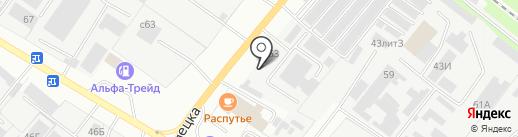 Центр Авто на карте Липецка