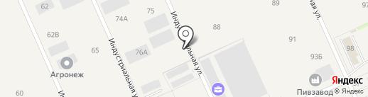 Индастри на карте Бабяково