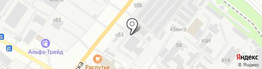 Автомойка для грузовых автомобилей на карте Липецка