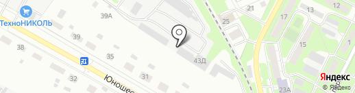 ЦК-мебель на карте Липецка