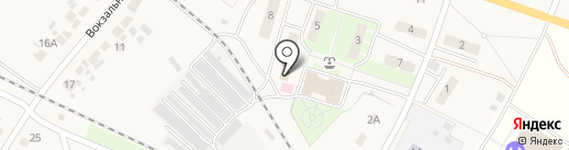 Почтовое отделение на карте Копцевов Хутора