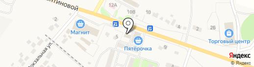 Красное & Белое на карте Копцевов Хутора