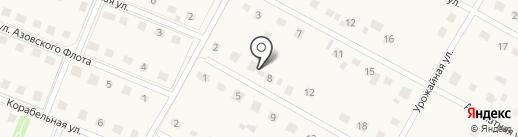 Зеленый квартал на карте Лениного