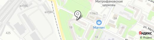 Комплекс-СП на карте Липецка