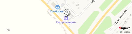 АЗС Руспетрол на карте Лениного