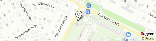 Банкомат, Московский Индустриальный Банк на карте Липецка