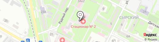 Липецкая районная больница на карте Липецка