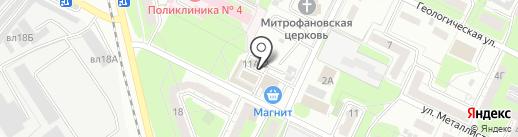 Магазин сухофруктов и кондитерских изделий на карте Липецка