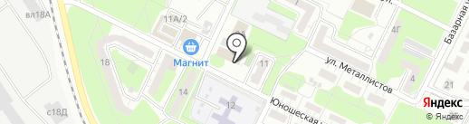 Парикмахерская на карте Липецка