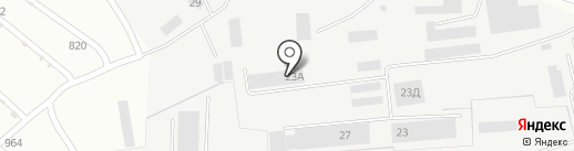 Тепловодомонтаж-ТВМ на карте Липецка