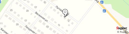 Лазурный на карте Лениного