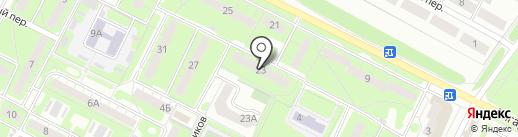 Виола на карте Липецка